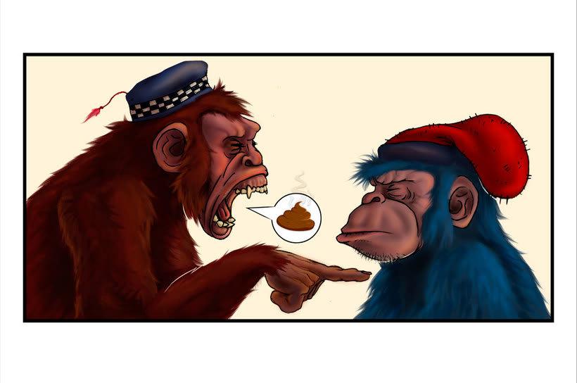 Una de monos 3