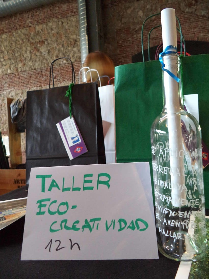 Taller de Eco-Creatividad en Zinc Shower 2015 -1