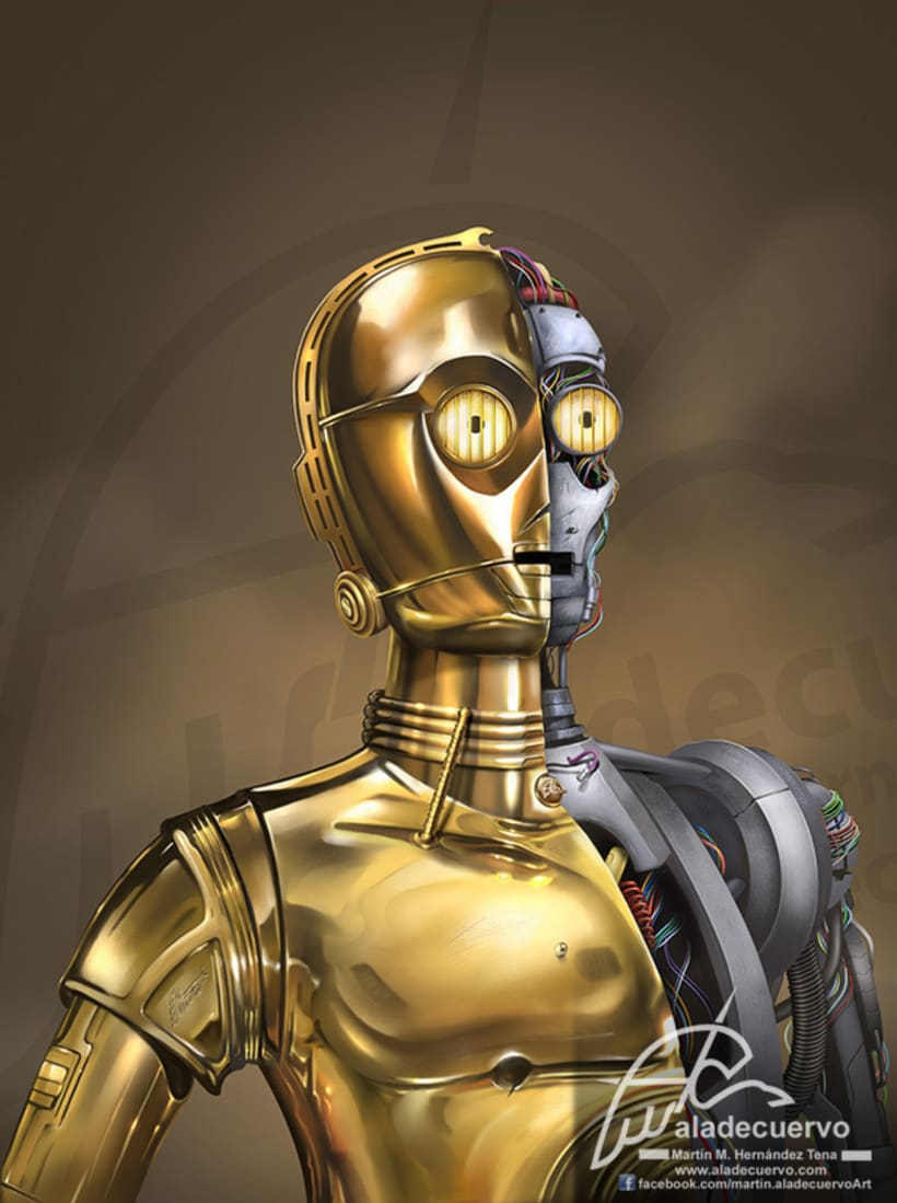 C3PO Starwars Fanart 0