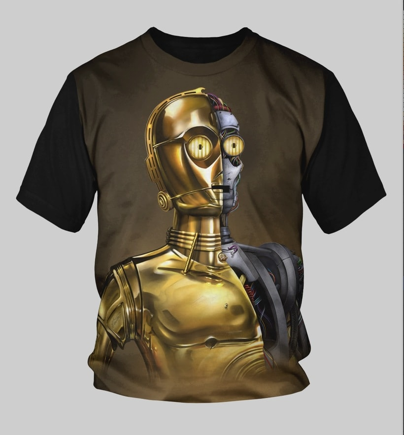 C3PO Starwars Fanart 2