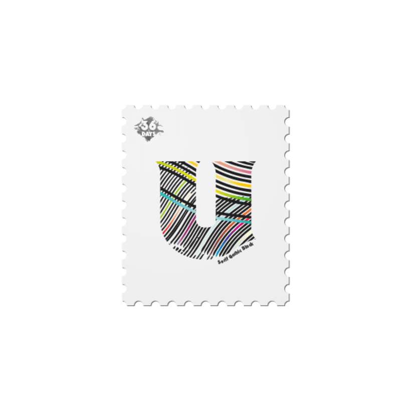 36 days of stamps 21