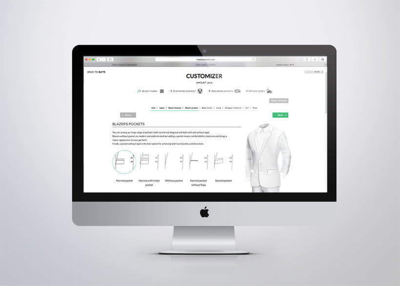 Rediseño Web Makeyoursuit 4