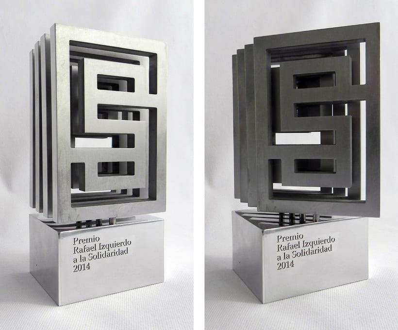 Esculturas corporativas: identidad tridimensional 50