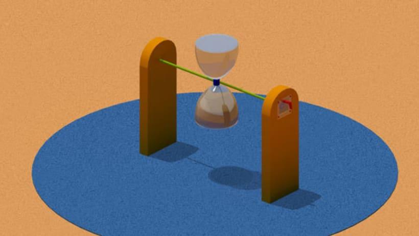 Parque infantil - 3D 3