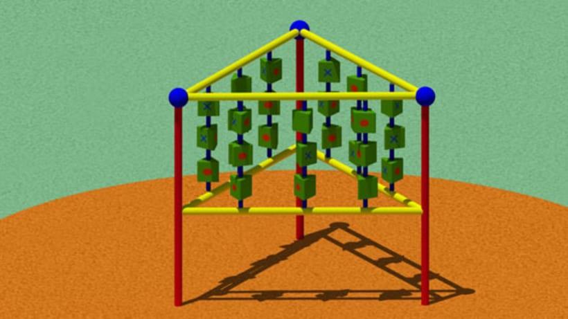 Parque infantil - 3D 2