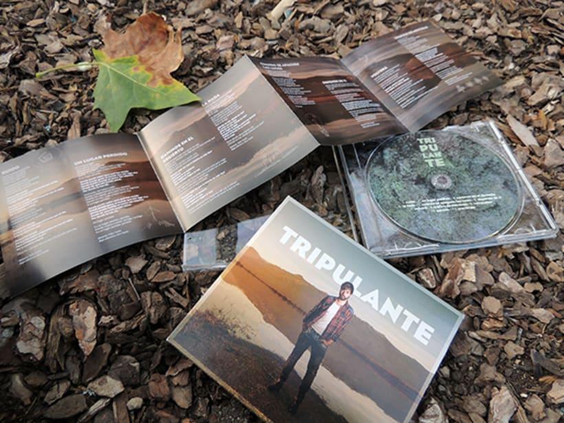 """Diseño de LP """"Tripulante"""" -1"""