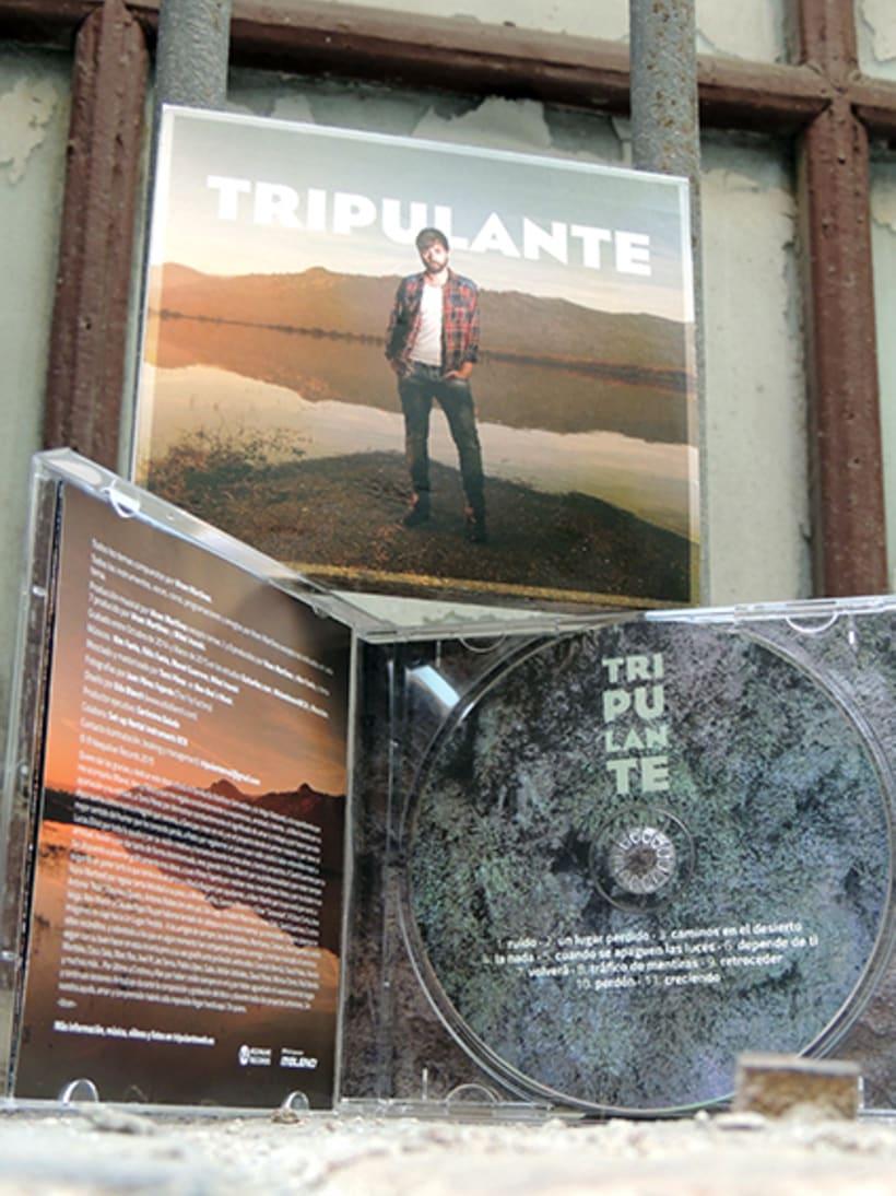"""Diseño de LP """"Tripulante"""" 0"""