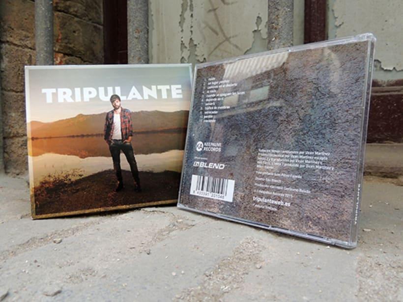 """Diseño de LP """"Tripulante"""" 1"""