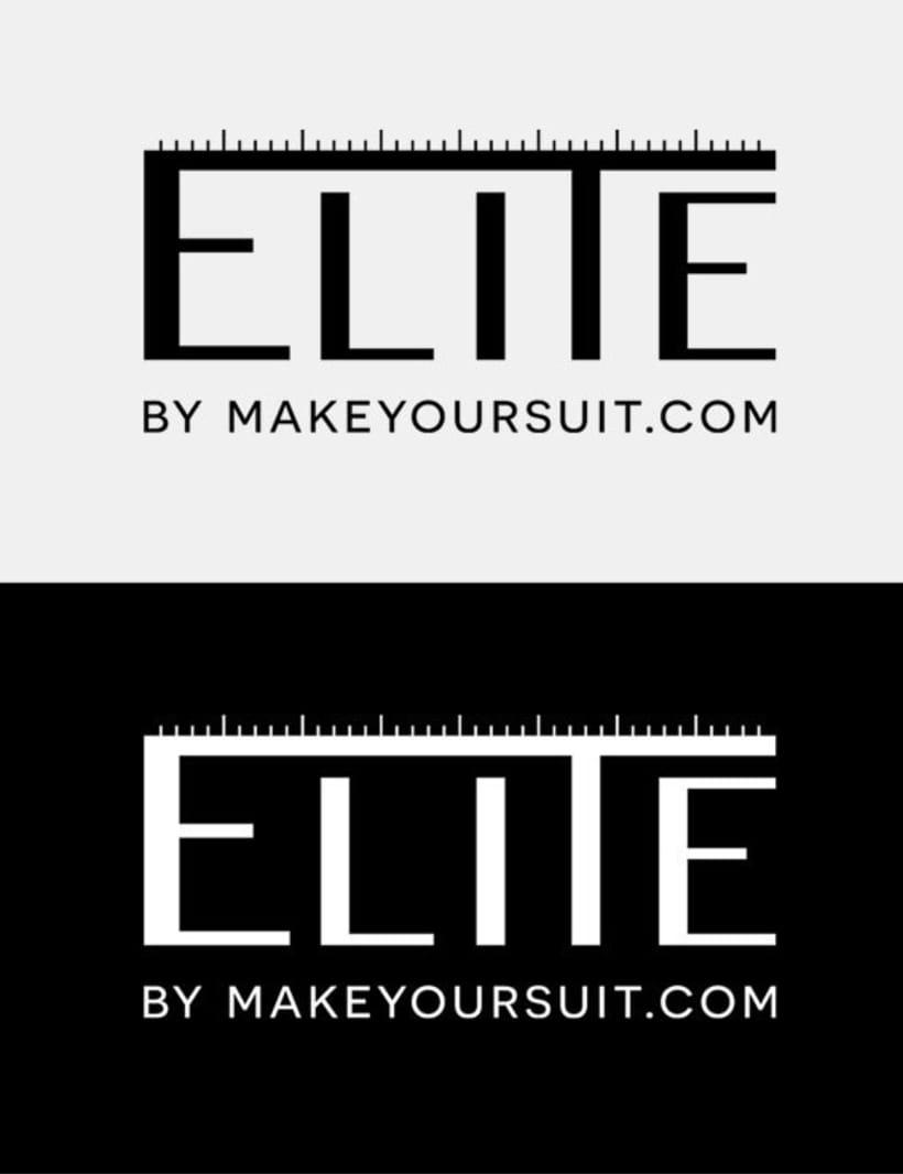Logotipo y material Gráfico para ELITE 1