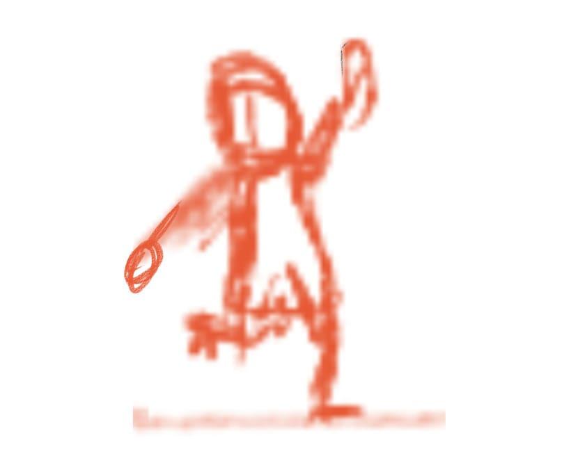 Proceso Ilustración (fanart) 1