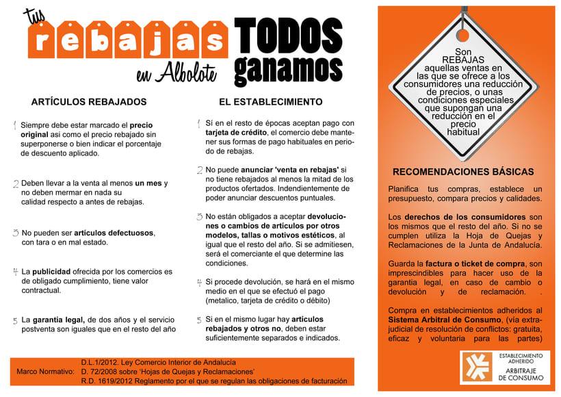 Campaña Informativa Rebajas Albolote 1