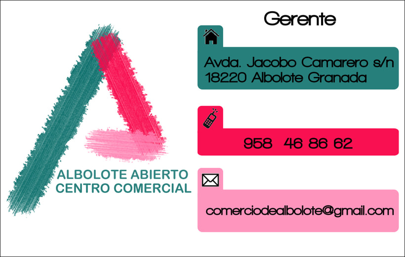 Imagen corporativa 'Centro Comercial Abierto Albolote' 1
