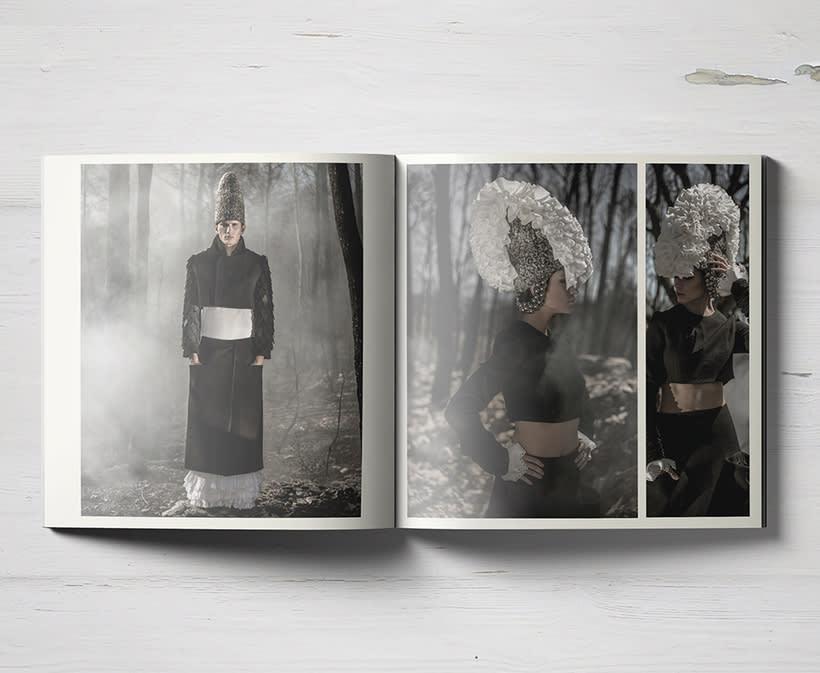 Campaign Look Book for Fashion Designer 5