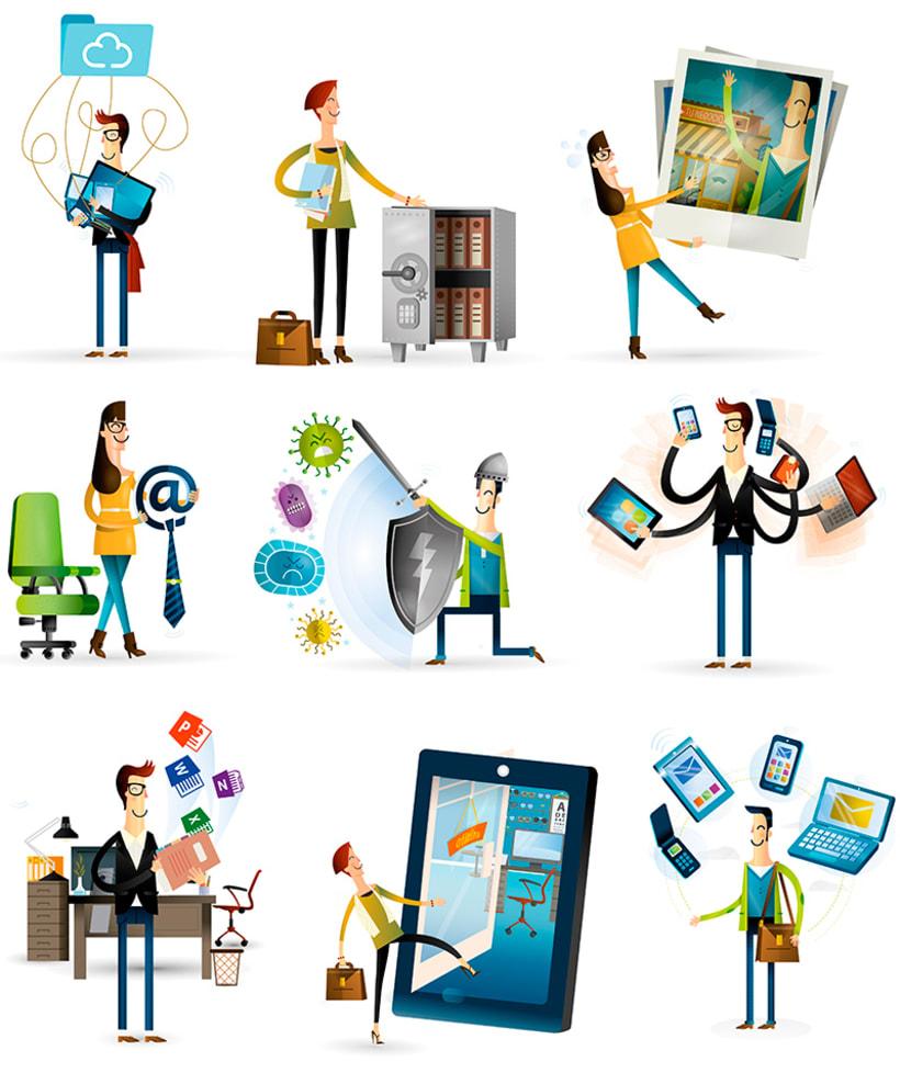Movistar Ilustraciones 4