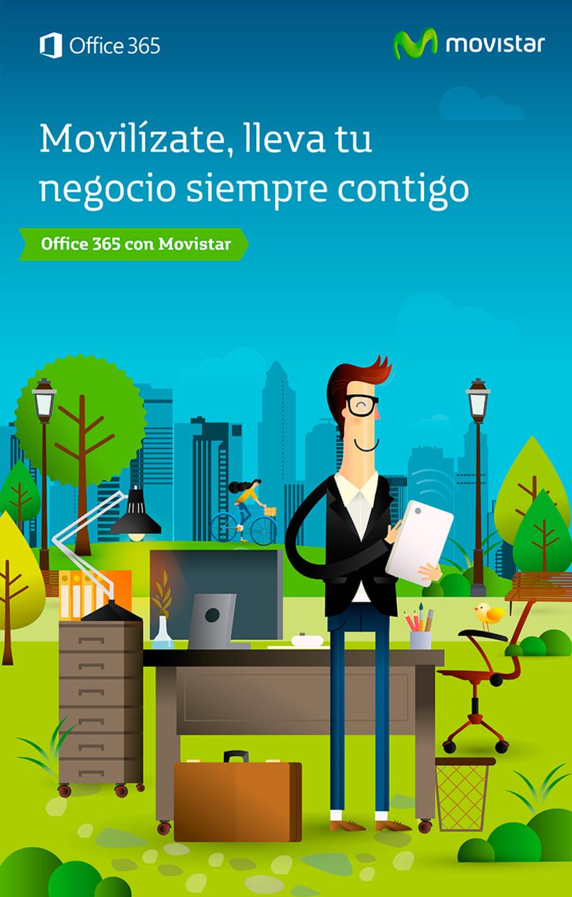 Movistar Ilustraciones 8