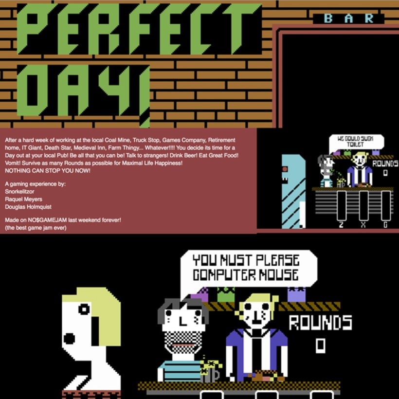 Perfect Day / no$gamejam 0