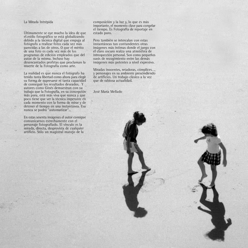 Catálogo y materiales para exposición fotográfica 1