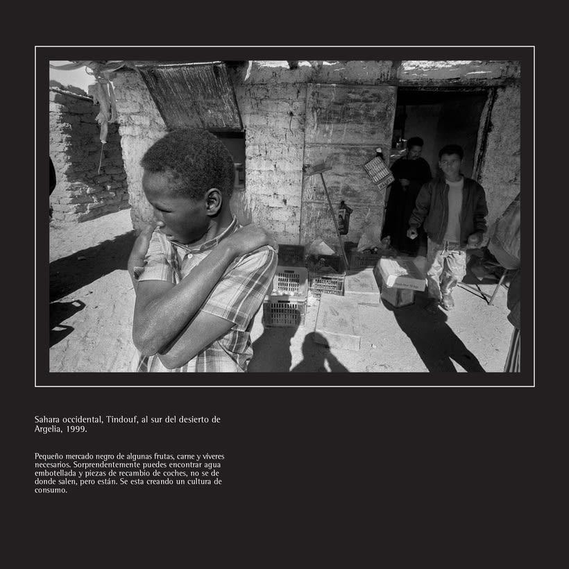 Catálogo y materiales para exposición fotográfica 3