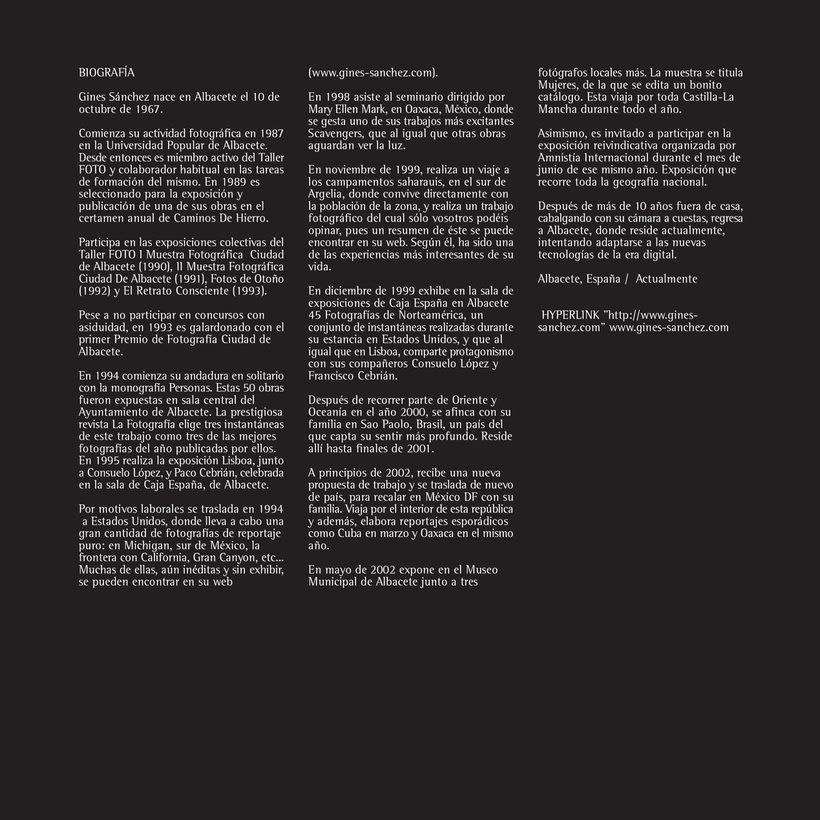 Catálogo y materiales para exposición fotográfica 4
