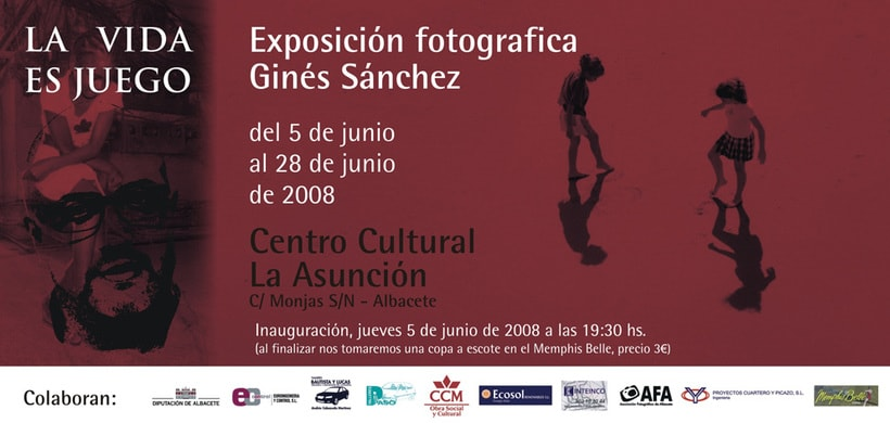 Catálogo y materiales para exposición fotográfica 5