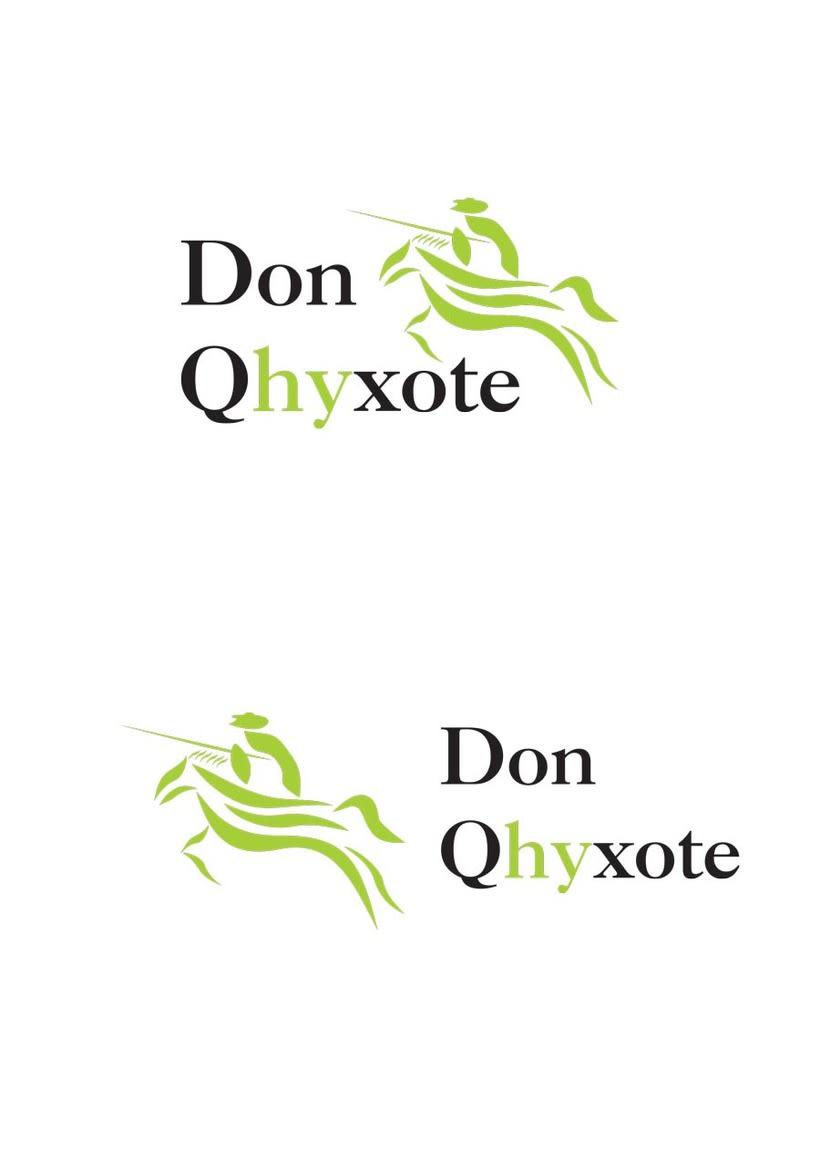 Diseño Identidad Don Qhyxote 2
