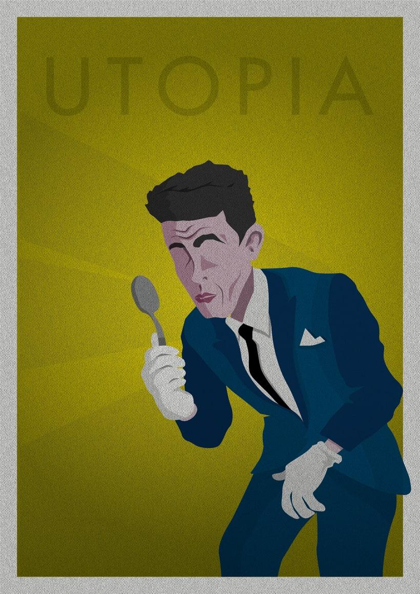 Serie Ilustraciones - UTOPÍA 1