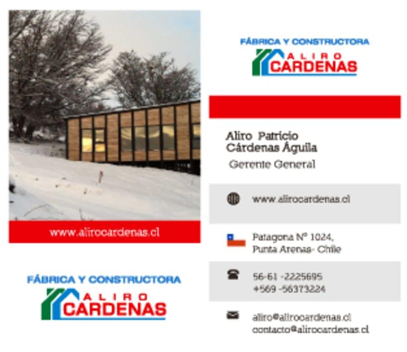 Alirio Cardenas - Tarjetas de presentación 1