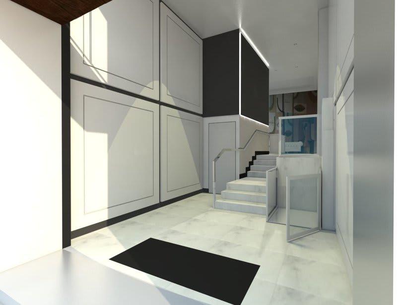 PROYECTO 3D  INTERIORISMO PORTAL EN MADRID -1