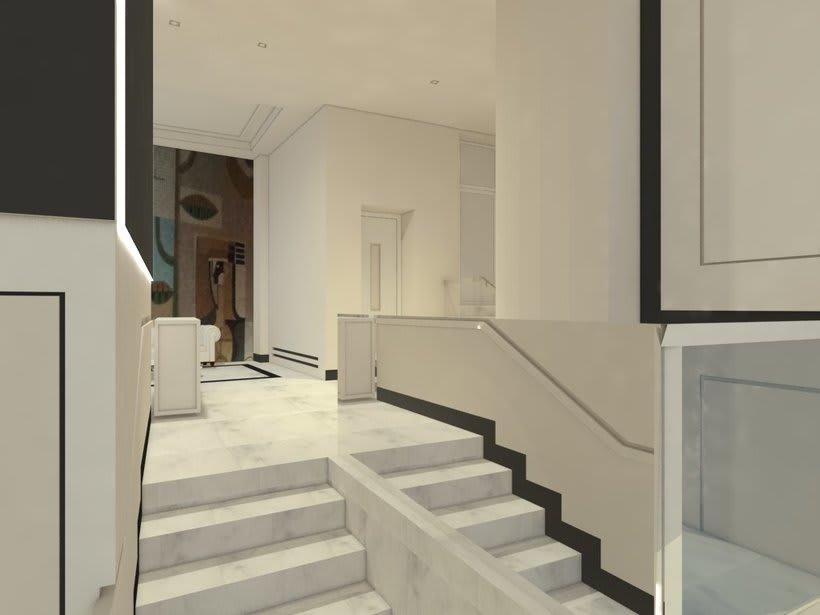 PROYECTO 3D  INTERIORISMO PORTAL EN MADRID 5
