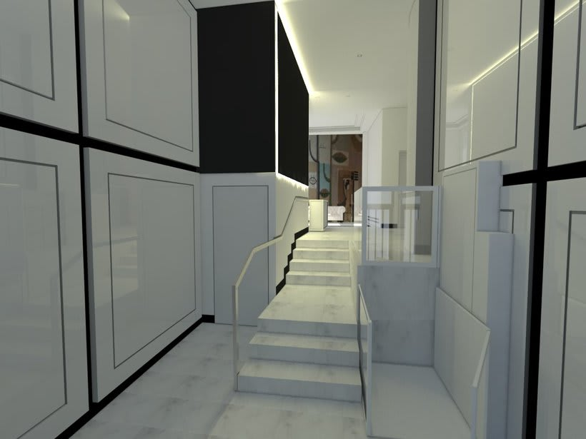 PROYECTO 3D  INTERIORISMO PORTAL EN MADRID 6