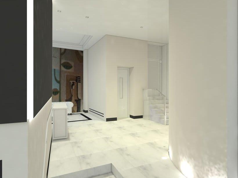 PROYECTO 3D  INTERIORISMO PORTAL EN MADRID 8
