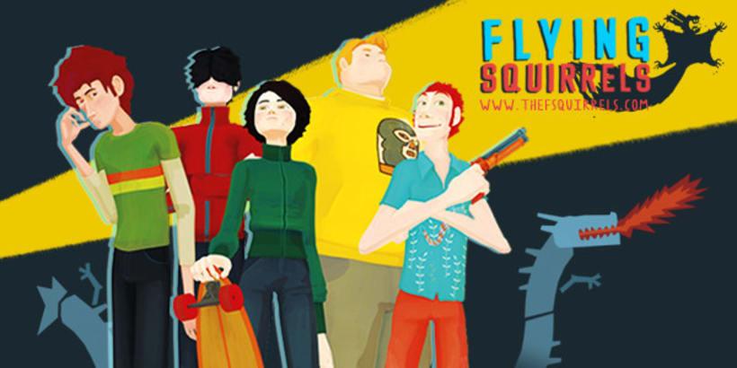 "Serie "" Flying Squirrels""Nuevo proyecto 1"