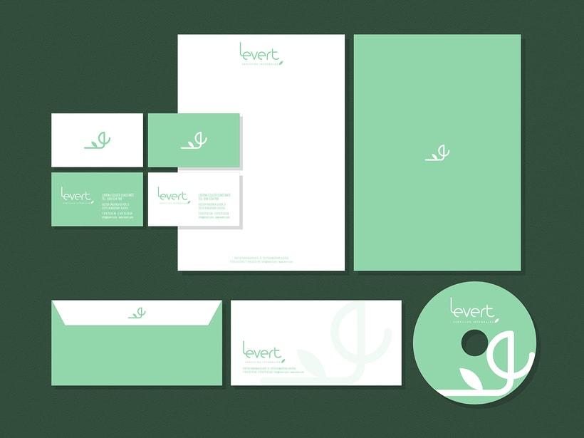 Identidad Visual Corporativa Levert 4