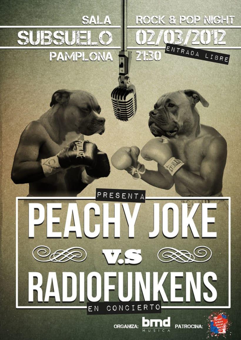 Peachy Joke vs Radiofunkens -1