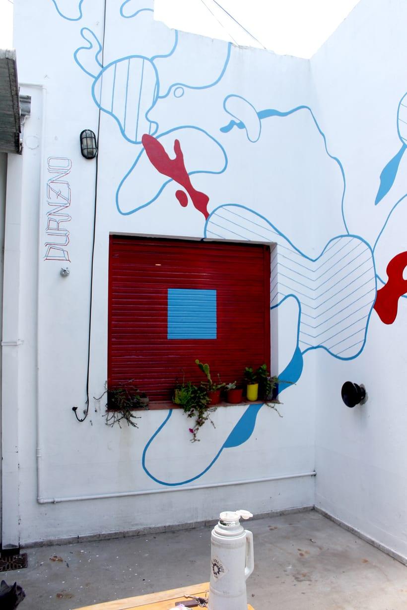 Ventana Roja - Mural -1