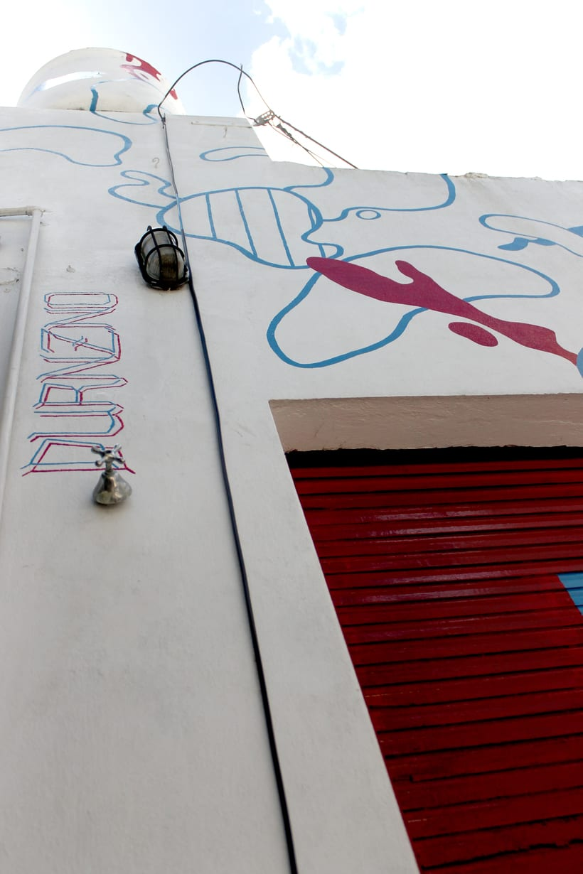 Ventana Roja - Mural 1
