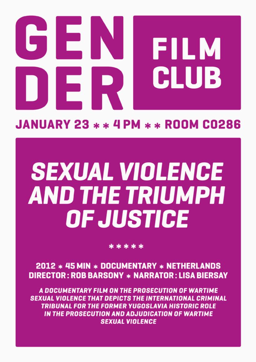 Gender film club 0