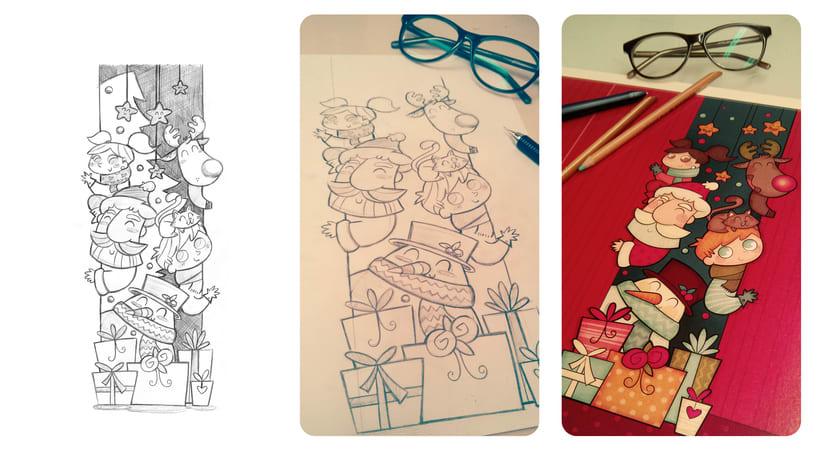 Colección Navidad. Ilustración infantil 0