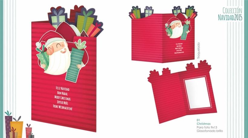 Campaña Navidad. Ilustración infantil 1