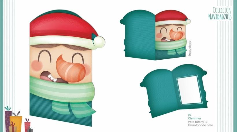 Campaña Navidad. Ilustración infantil 2