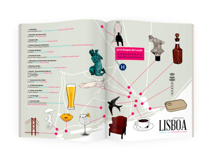 H10 HOTELS // Lisbon Map 2