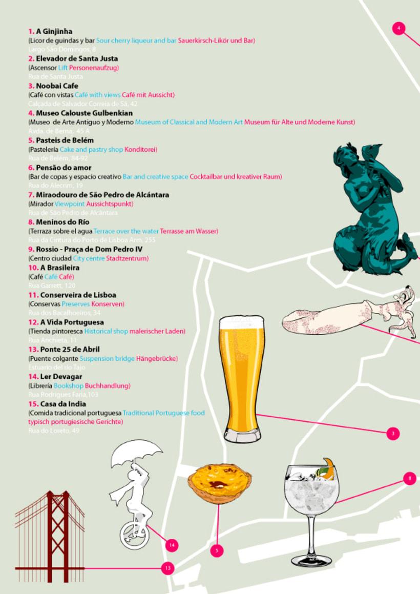 H10 HOTELS // Lisbon Map 4