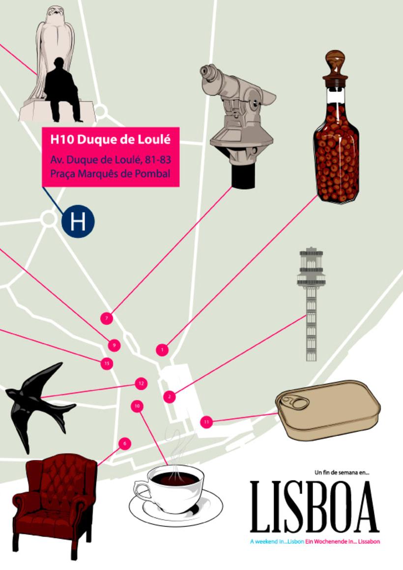 H10 HOTELS // Lisbon Map 6