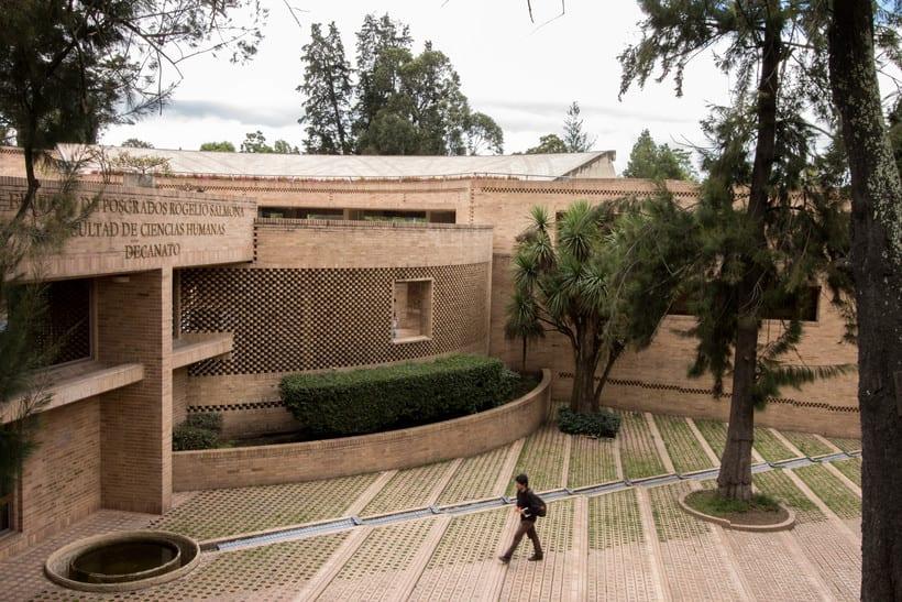 Facultad de Ciencias Humanas de la Universidad Nacional de Colombia, Bogotá | Arq. Rogelio Salmona 1995 6
