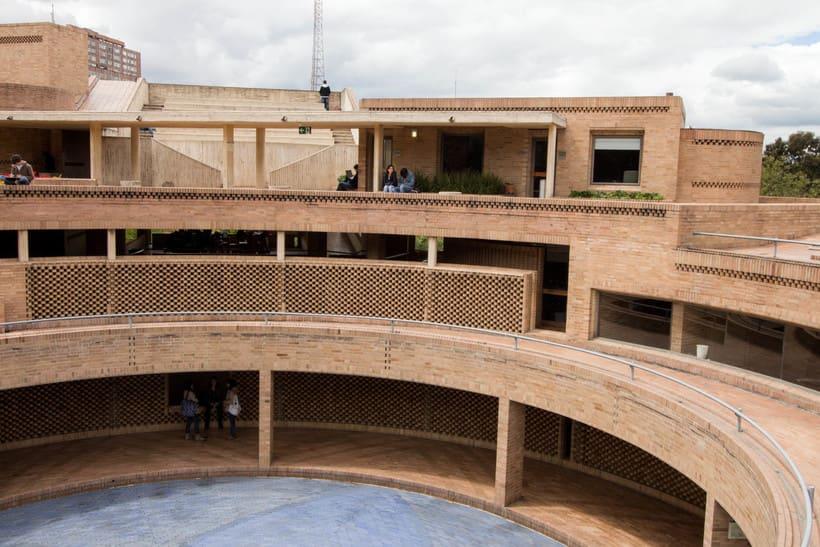 Facultad de Ciencias Humanas de la Universidad Nacional de Colombia, Bogotá | Arq. Rogelio Salmona 1995 10