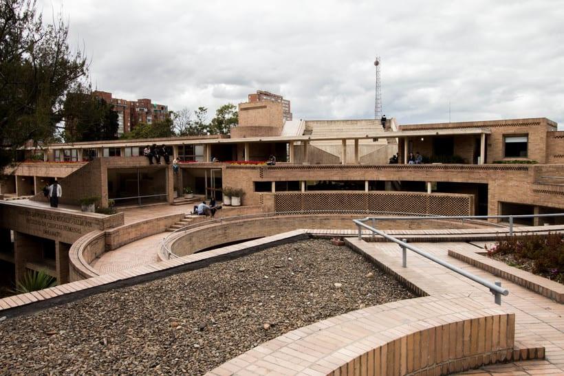 Facultad de Ciencias Humanas de la Universidad Nacional de Colombia, Bogotá | Arq. Rogelio Salmona 1995 11