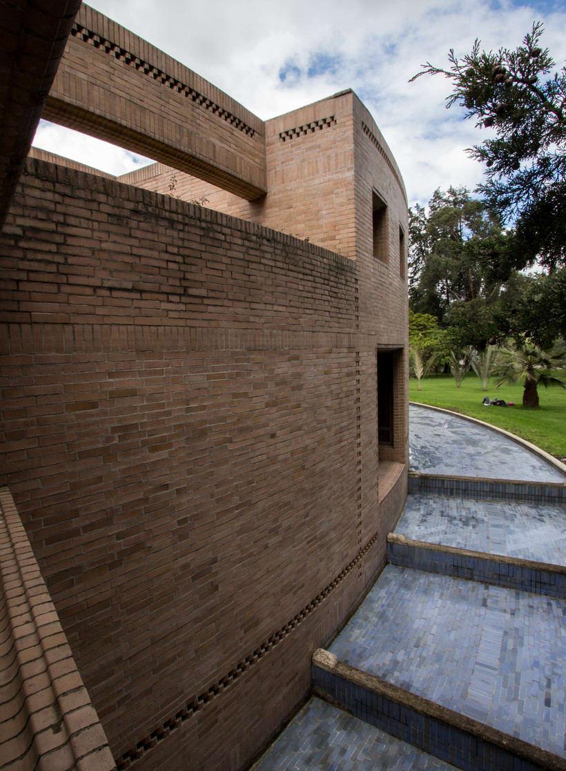 Facultad de Ciencias Humanas de la Universidad Nacional de Colombia, Bogotá | Arq. Rogelio Salmona 1995 16