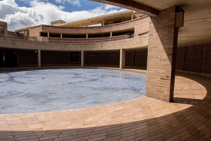 Facultad de Ciencias Humanas de la Universidad Nacional de Colombia, Bogotá | Arq. Rogelio Salmona 1995 18