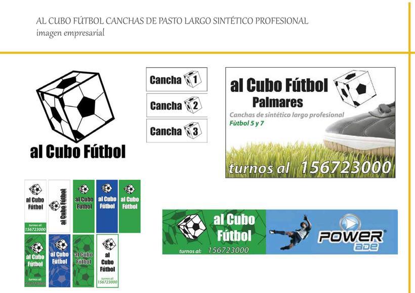 CANCHAS DE FUTBOL PROFESIONAL: AL CUBO FUTBOL - BRANDIN E IMAGEN -1