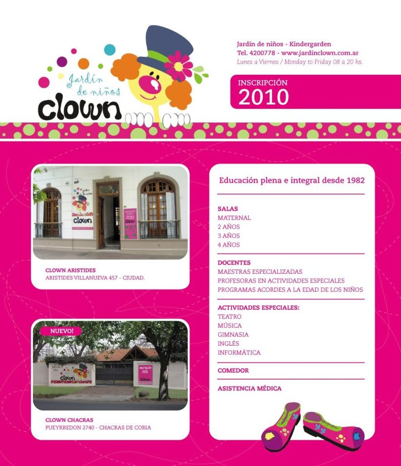 BRANDING JARDIN CLOWN 0